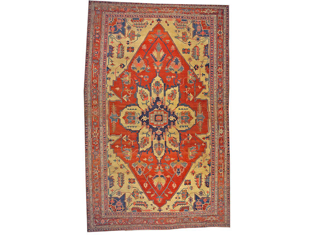 A Serapi carpet Northwest Persia size approximately 11ft. 7in. x 18ft. 7in.