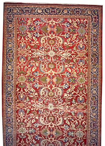 A Sultanbad carpet Central Persia size approximately 14ft. 2in. x 24ft. 6in.