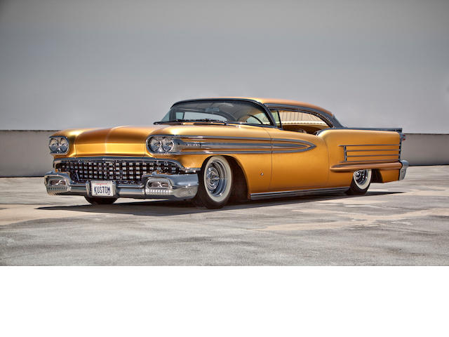 Built by John D'Agostino, multiple trophy winner,1958 Oldsmobile Super 88 Hardtop Coupe Kustom  Chassis no. 588C05766