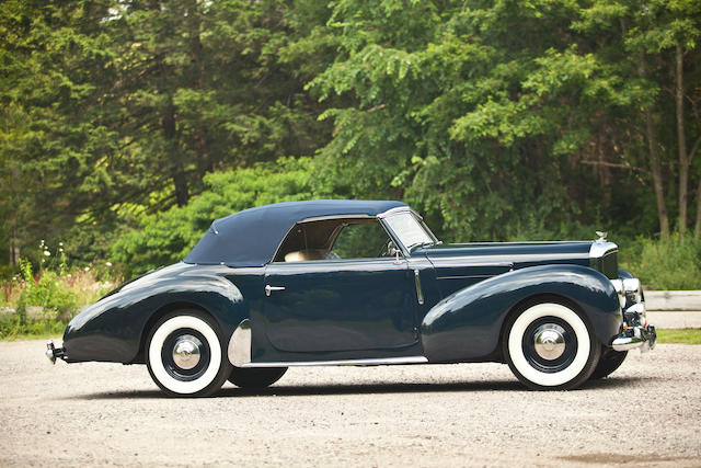 Featured in Rolls-Royce and Bentley by Klaus-Josef Rossfeldt,1947 Bentley MkVI Drophead Coupé  Chassis no. B136BH Engine no. B68B