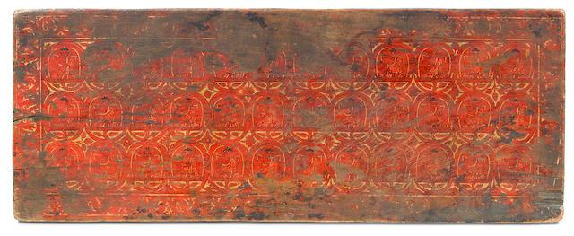 Three manuscript covers Tibet, 13th-14th century