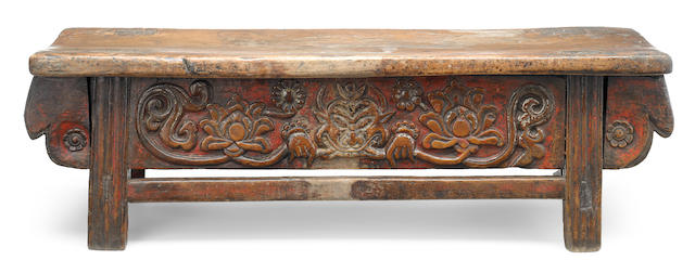 An altar table Tibet 13th - 15th century