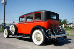 1933 Stutz DV-32 Five Passenger Sedan  Chassis no. DV64 1595 Engine no. 33306