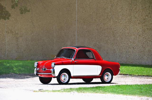 1960 Autobianchi Bianchina Transformabile Coupé  Chassis no. 110B-025484