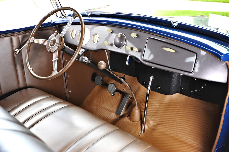 The ex-Jack Hogan, Dearborn Award-Winning,1936 Ford Model 68 Deluxe Phaeton  Chassis no. 32050750