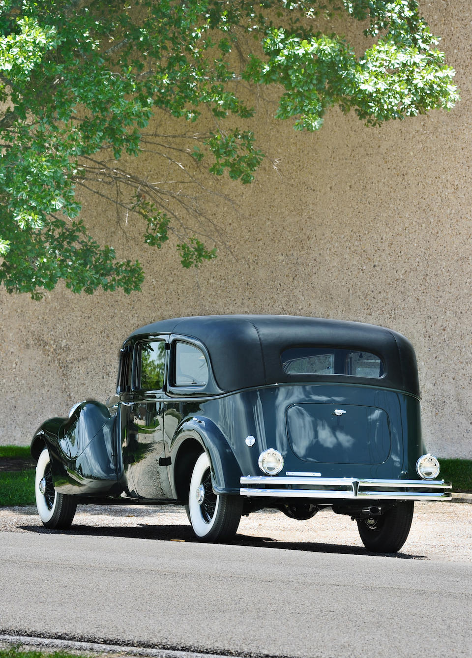 """Formerly the property of Reverend Major Jealous """"Father"""" Divine, AKA """"The Messenger"""", the penultimate Duesenberg chassis and engine and the largest example ever built,1937 Duesenberg Model J 'Throne Car' Limousine Landaulet  Chassis no. 2613 Engine no. J-587"""