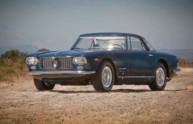 1962 Maserati 5000GT  Chassis no. 103.046 Engine no. 046