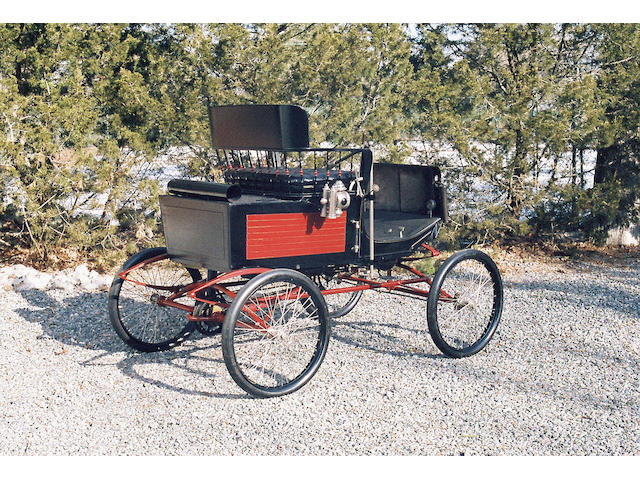 1899 Stanley Locomobile Steamcar Stanhope, Style 2 Sedan  Chassis no. 1270