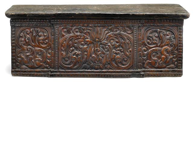 A folding altar table Tibet, 15th/17th century