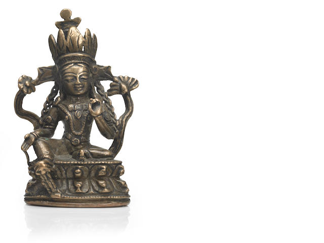 A copper alloy, Syamatara Western Tibet, 13th/14th century