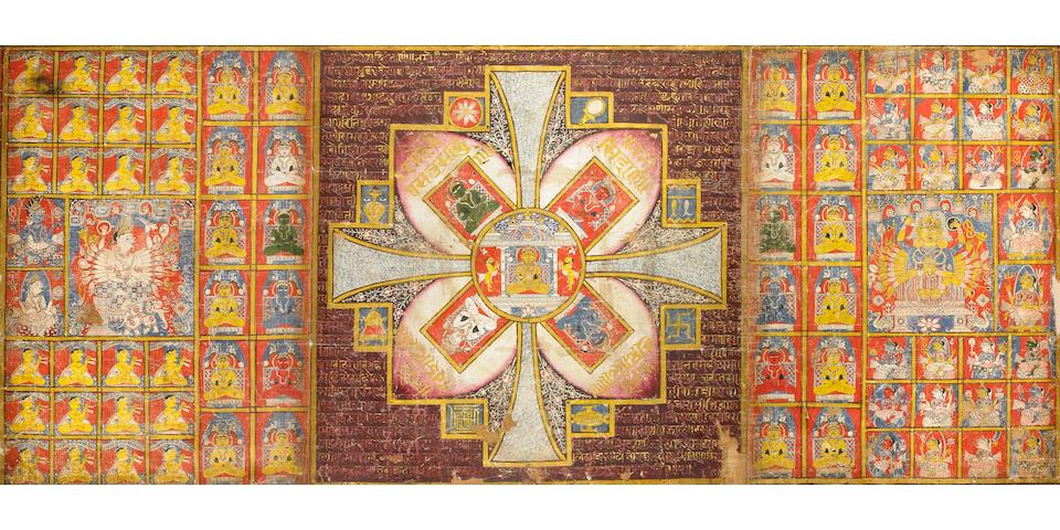 A Jain Pancha Namaskara Mahamantra Gujarat, India, 16th century