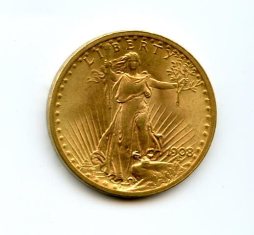 1908 NM $20