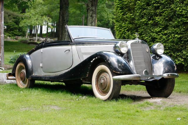 1937 Mercedes-Benz 170V Cabriolet A  Chassis no. 184635