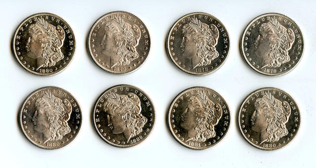 San Francisco Mint Morgan Dollars (8)