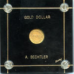 Undated (1831-1834) C. Bechtler $1 Gold 30 Grains