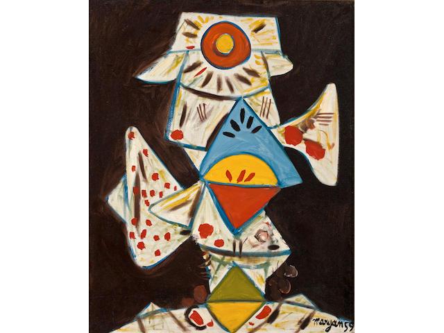 Maryan  (Pinchas Burstein) (American, 1927-1977)