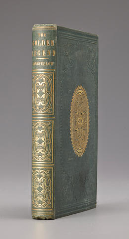 LONGFELLOW, HENRY WADSWORTH. 1806-1882. 1. The Golden Legend. Boston: Ticknor and Fields, 1852.