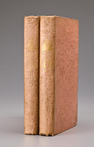 "DICKENS, CHARLES. 1812-1870. Memoirs of Joseph Grimaldi. Edited by ""Boz."" London: Richard Bentley, 1838.<br>"