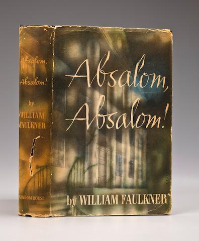 FAULKNER, WILLIAM Absolom, Absolom