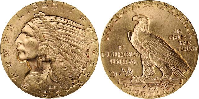 1912 $5