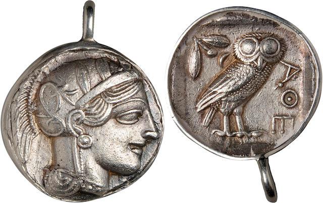 Attica, Athens, Tetradrachm, ca. 4th Century BC
