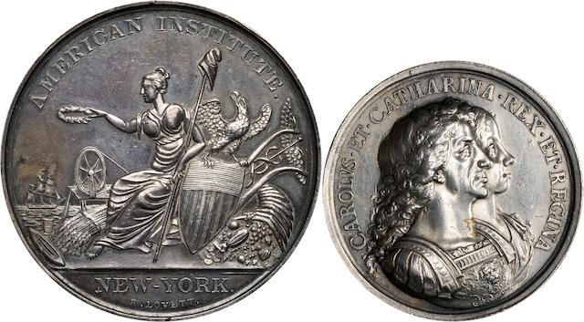Silver Medal of the American Institute, New York