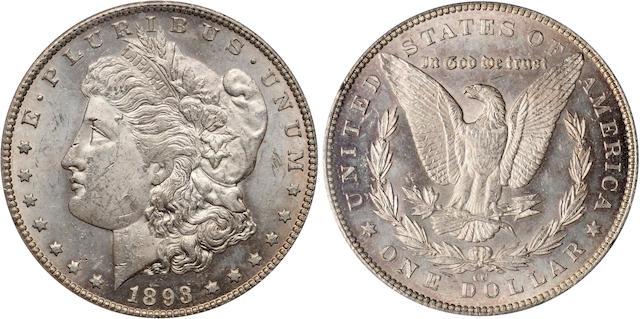 1893-CC $1 MS63 PCGS