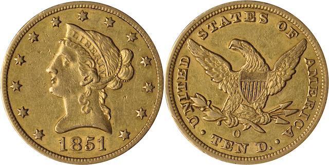 1851-O $10