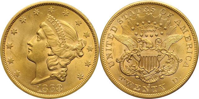 1868-S $20
