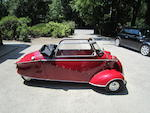 Two owners from new,1955 Messerschmitt KR-200 Cabrio  Chassis no. 56265