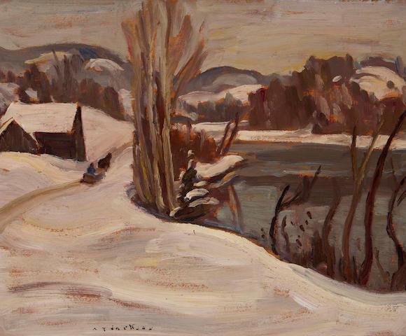 Alexander Young Jackson, RCA, OSA, CGP (Canadian, 1882-1974) Gatineau River Ont
