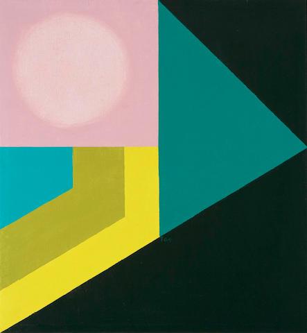 Takao Tanabe (Canadian, born 1926) Ooza Pink