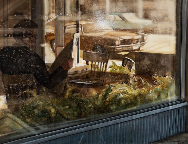 Kenneth Edison Danby (Canadian, 1940-2007) Corner Window