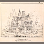 YOUNG, W., ARCH.800 ****Picturesque Architectural Studies. London and New York: E. & F.N. Spon, 1872.<BR>