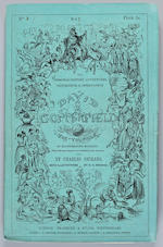DICKENS, CHARLES. 1812-1870. The Personal History of David Copperfield. London: Bradbury & Evans, May 1849-November 1850.