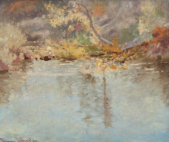 Francis Hans Johnston, ARCA, OSA, CSPWC (Canadian, 1888-1949) Shimmering