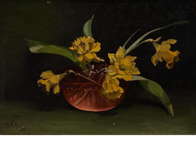 Mary Augusta Hiester Reid (Canadian, 1854-1921) Daffodils