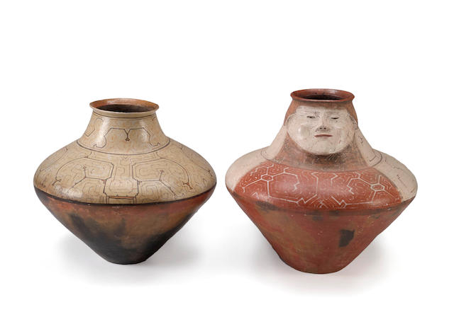 Two Shipibo jars