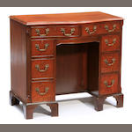 A George III kneehole desk