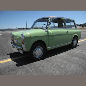 1962 Autobianchi Bianchina Panoramica  Chassis no. 120B*078104 Engine no. 120 000 087604