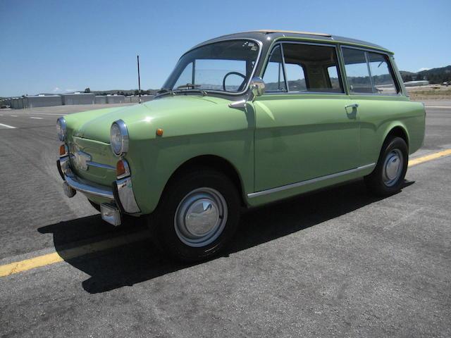 1962 Autobianchi Bianchina Panoramica  Chassis no. 120B*078104 Engine no. 120 000 087604