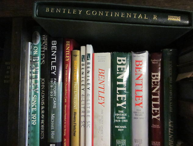 A selection of Bentley Marque titles,