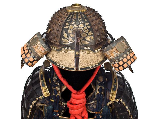 A black-lacquer armor with a yokohagi do 18th-19th century