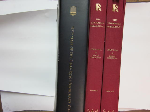 'The Edwardian Rolls-Royce' Volumes I & II by John Fasal and Bryan Goodman