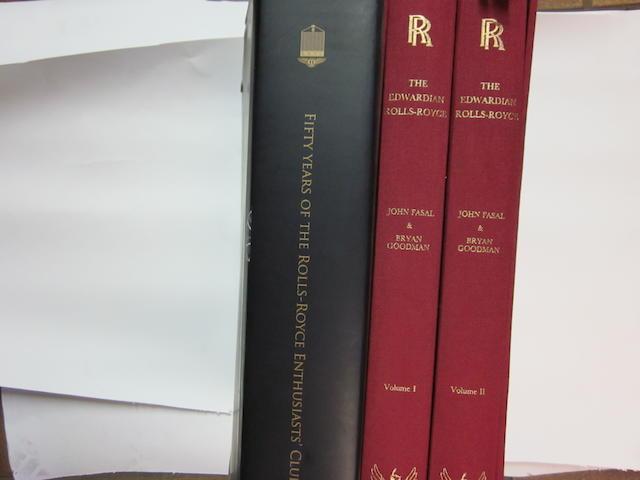 'The Edwardian Rolls-Royce' Volumes I & II by John Fasal and Bryan Goodman