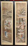 Anonymous (Late Qing/Republic period) A set of four figure paintings