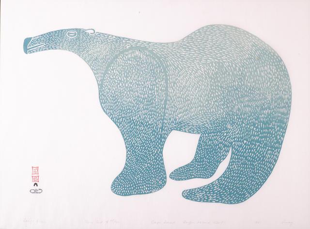 A Lucy Qinnuayuak print