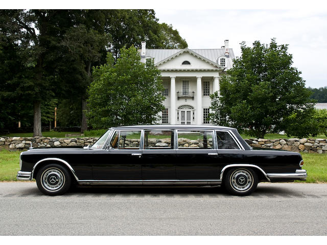 1964 Mercedes-Benz 600 Pullman Limousine  Chassis no. 10001412000107