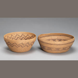 Two Paiute baskets
