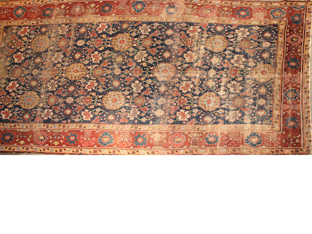 North West Persian carpet size approximately 6ft. 10in. x 14ft. 5in.